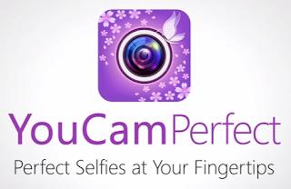 Aplikasi kamera selfie android - YouCam Perfect - Selfie Cam