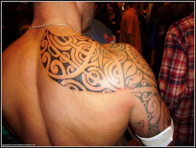 The best back tribal Tattoos for men
