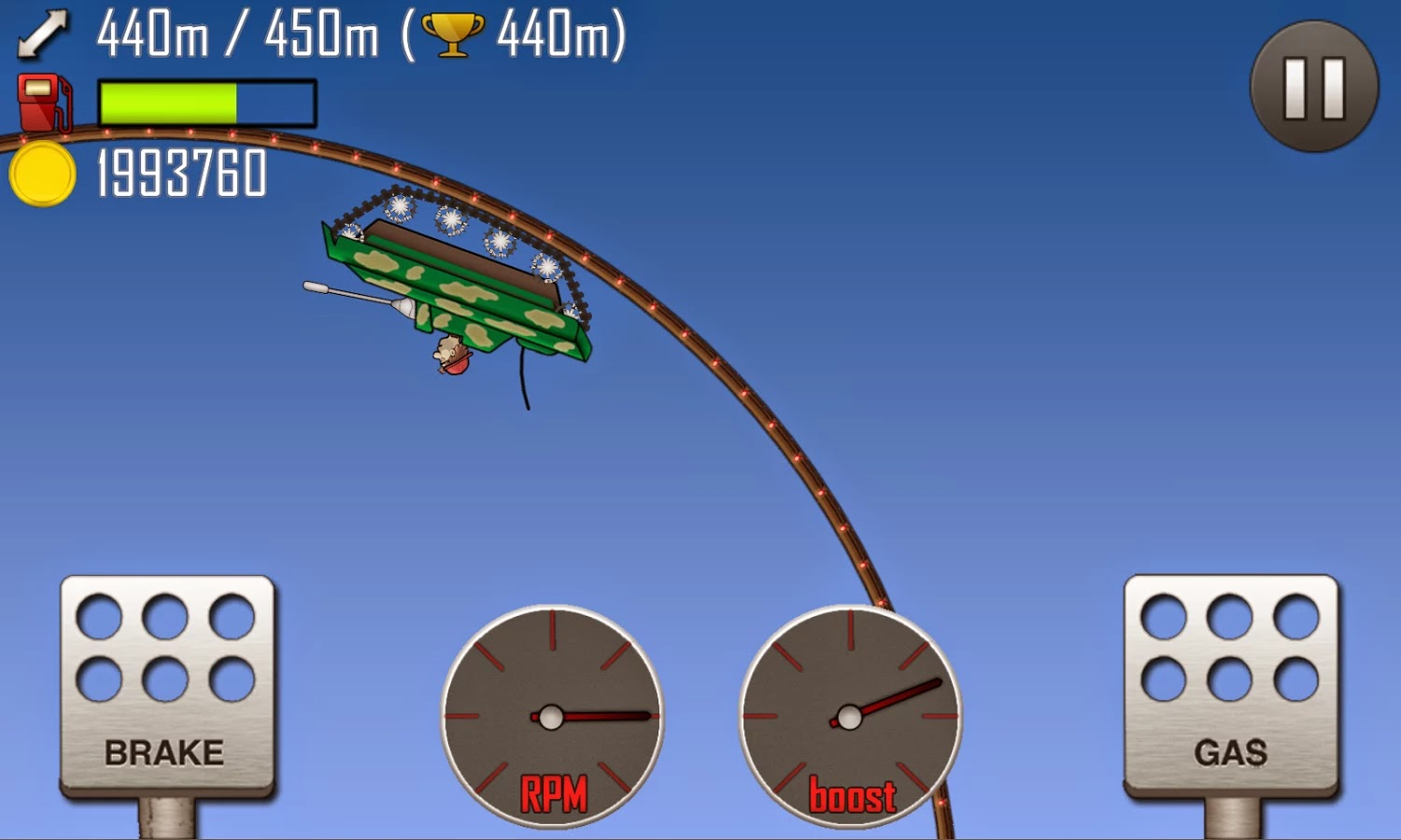 Hill Climb Racing v1.19.1 Mod [Unlimited Coins]