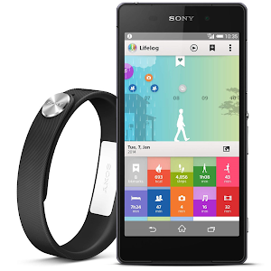 Xperia Z2 with SmartBand