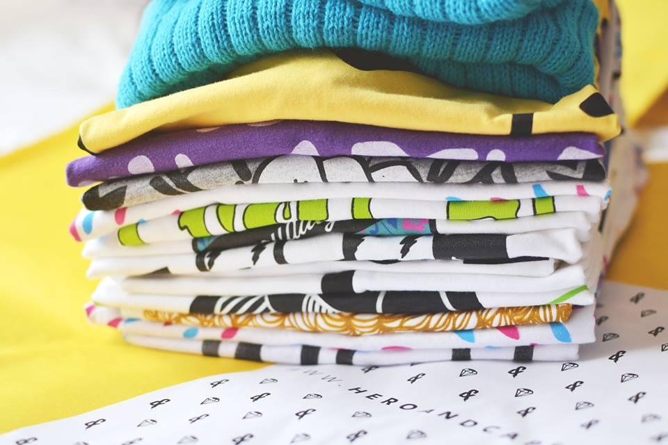 illustrated graphic tshirt, screen printed tshirts, british tshirt brand, british tshirt label