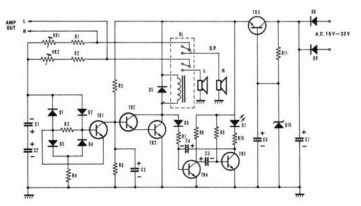 Grozzart Speaker Protection Schematic