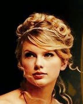 taylor swift love story hairstyles Updo