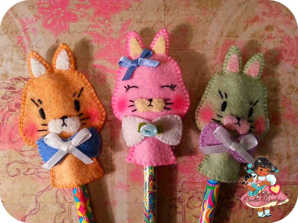 Cat Pencil Topper