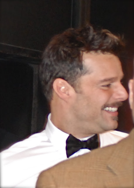 at the stagedoor: RICKY MARTIN, Star of the Broadway ...