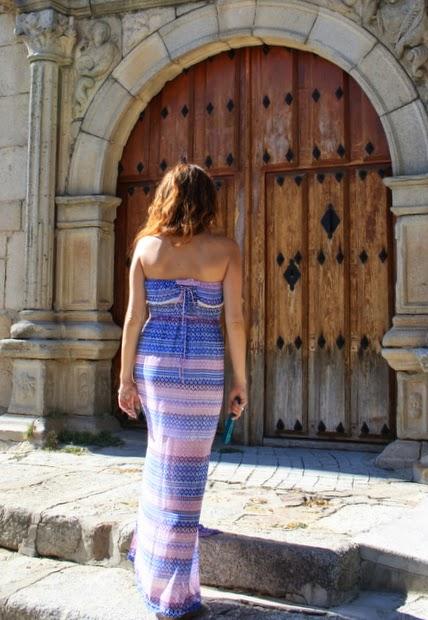 vestido largo colores pastel