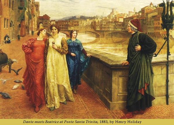 in-nuce.com Dante meets Beatrice
