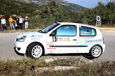 Rally Sprint Δωδώνης 2015: Ακόμη ένα βάθρο για τους Χατζηκωνσταντίνου – Ματαλιωτάκη