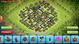 Base Clash of Clans TH 8 Terbaik 2