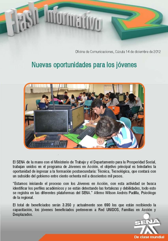 Regional norte de santander nuevas oportunidades para los for Oficina de correos santander