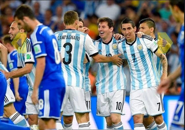 اهداف مباراة الأرجنتين و البوسنة 2-1