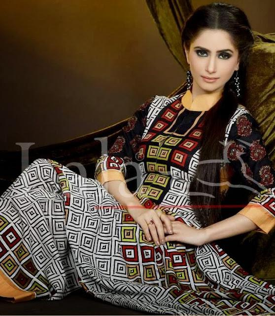 Sana Samia Khaadi Winter Collection 2013-14 By Lala Textiles
