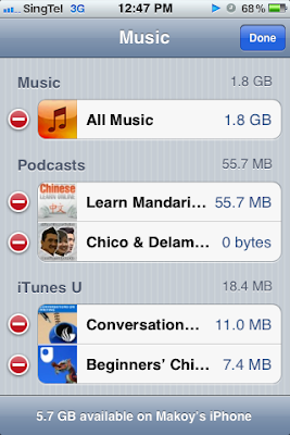 How To Delete Unfinished Podcast Download in iPhone