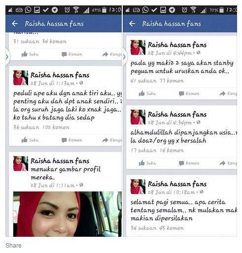 Fake Akaun Facebook Saham Dosa Manusia