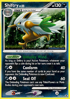 Shiftry Pokemon Card Rising Rivals Set