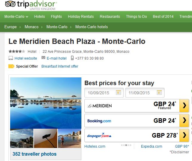 Le Meridien beach Plaza Hotel
