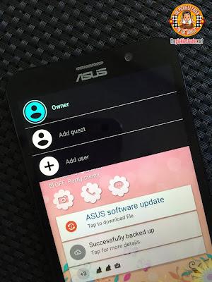 ASUS ZenFone 2 snapview