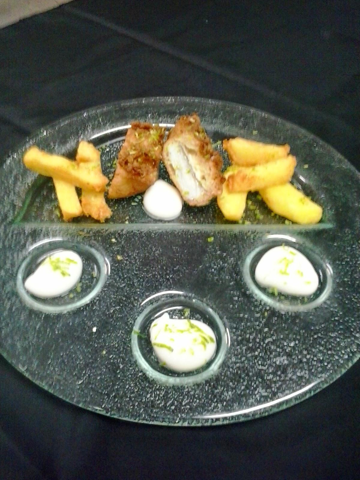 Cocina molecular fish and chips perfection for Evolucion de la cocina molecular