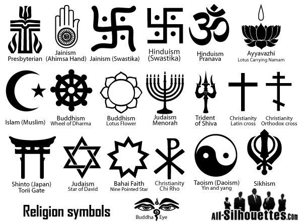 Major Religious Symbols With Names Related Keywords Suggestions