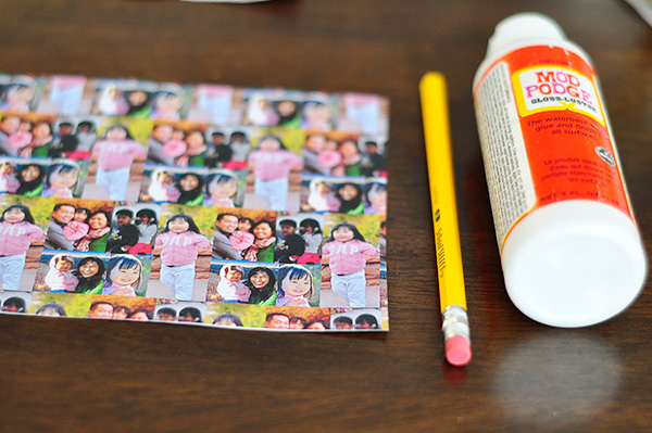 Custom photo pencil