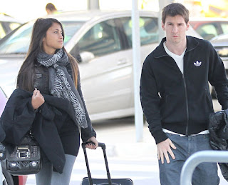 Antonella Roccuzzo; Lionel Messi Girlfriend