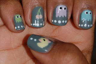 pacman nails, ms.pacman nails