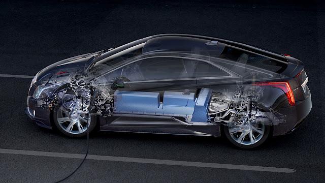 Cadillac ELR side
