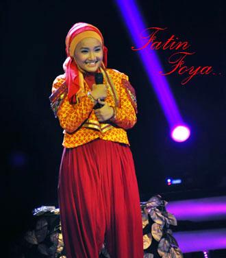 Fatin Foya Jawara XFactor Indonesia Season Perdana