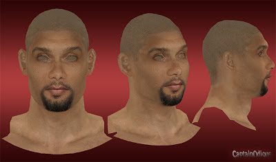 NBA 2K13 Tim Duncan Cyberface Mod