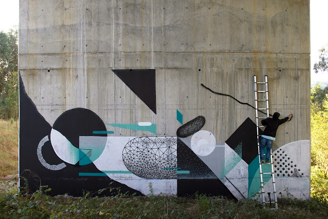 Street Art Collaborations By Xuan Alyfe And Nelio In Somao And Aviles, Spain. 2