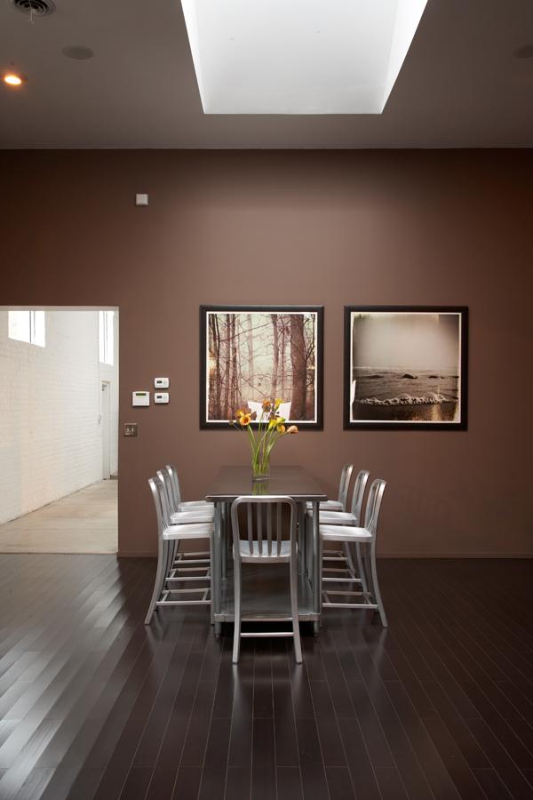 Ufficio color cioccolato - Colori per pareti ufficio ...