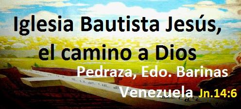 Iglesia Btta. Jesús el camino a Dios