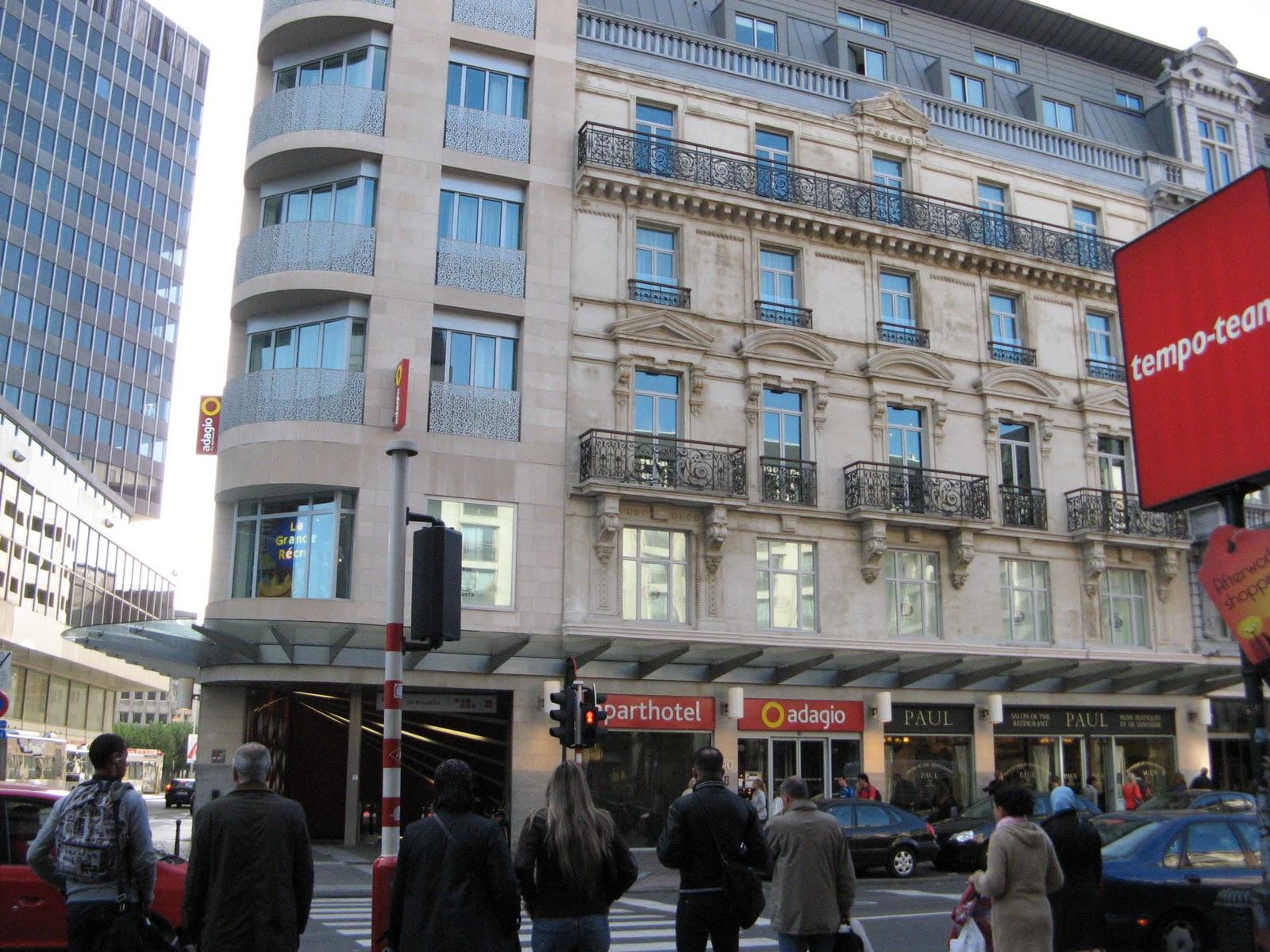 Viajar es descubrir d a 1 hacia la capital de europa for Hotel adagio londres