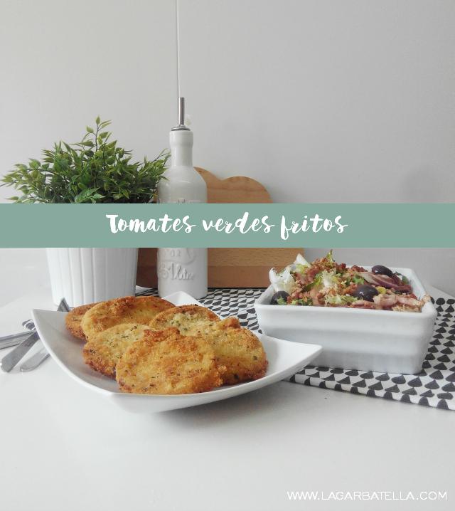 Tomates verdes fritos  - Receta fácil, barata y rápida