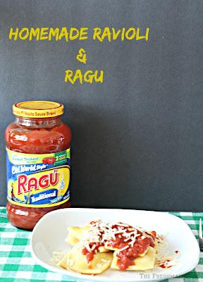 ragu pasta sauce, hoemade Pasta dish, ravioli