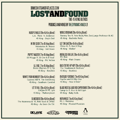 The Dynamic Hamza 21® - Lost And Found - The 45 King Blends