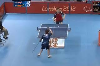 discapacitados jugando ping pong 2012