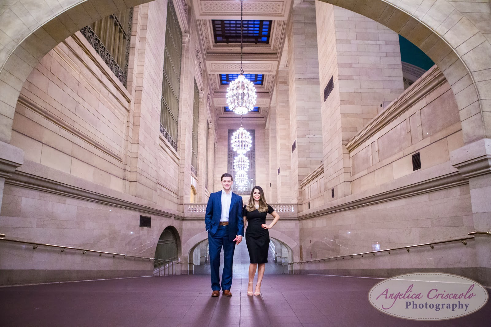 Engagement Photos; New York Engagement Photos; New York; Grand Central Engagement Photos; Zara Dress; Classic dress; What to wear to engagement photos; black dress; Wedding season; wedding engagement photos; ny fashion blogger