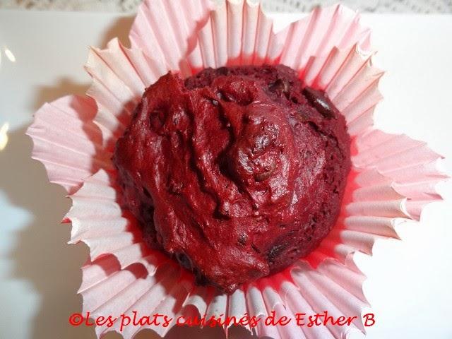 Muffins Red Velvet - Recette