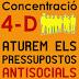 4 de desembre, concentracions: Ens volen robar la paga: aturem els pressupostos antisocials