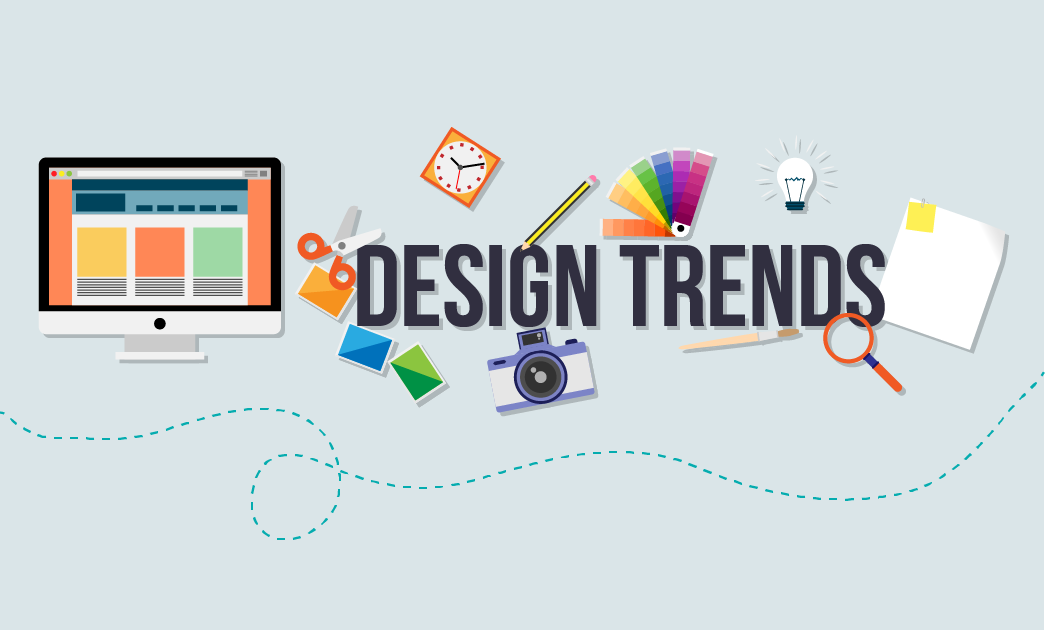 The Top 8 Graphic #Design Trends 2015 - #Infographic