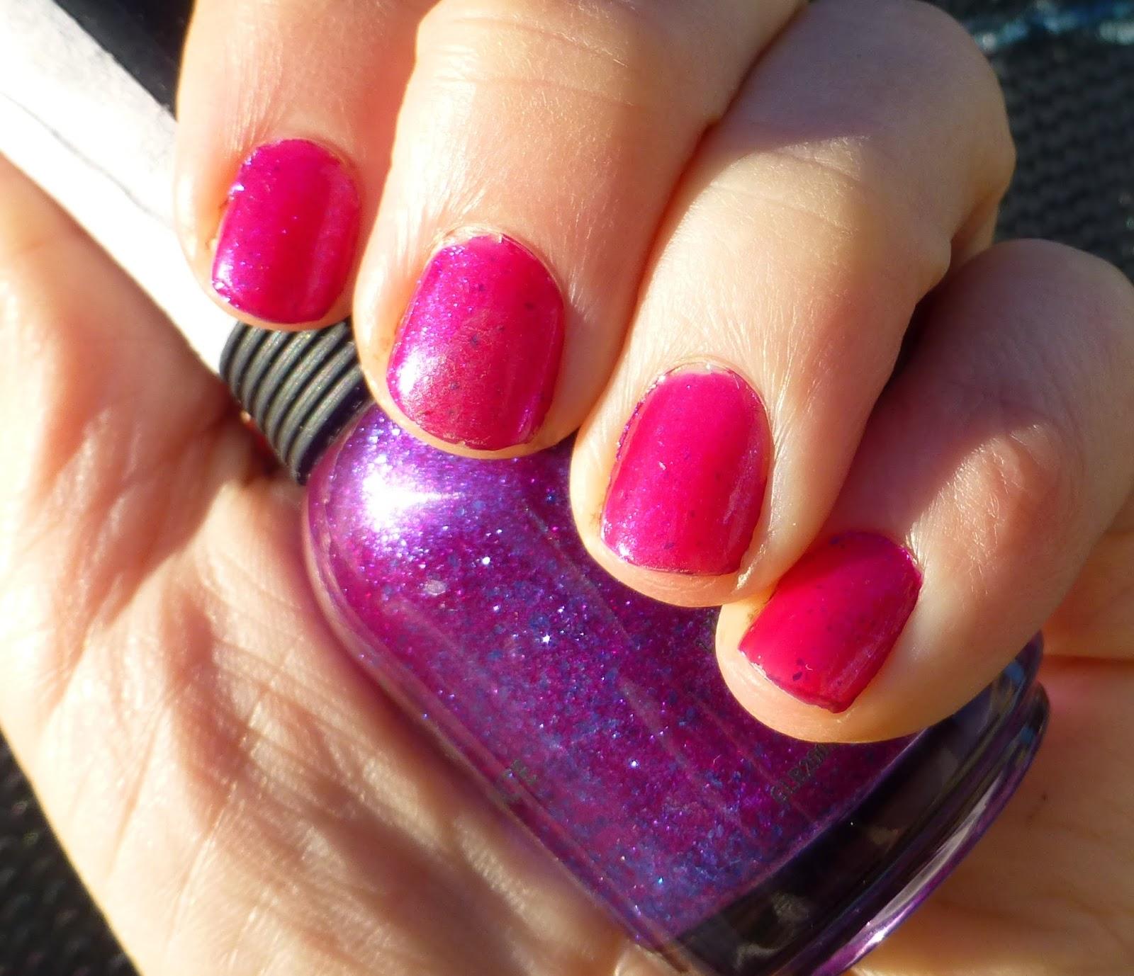 Orly Purple Poodle nail polish