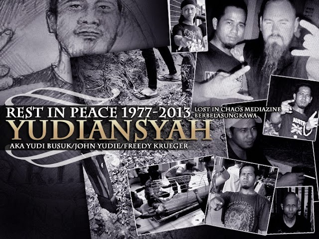 Yudiansyah AKA John Yoedie In Memoriam (Rest In Peace 1977 - 2013)