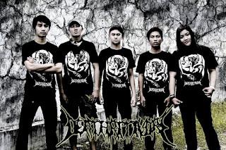 Deathritivore Band Death Metal Banjarmasin Kalimantan selatan Foto Wallpaper Artwork