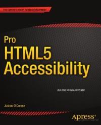 Pro HTML5 Accessibility na Amazon.com