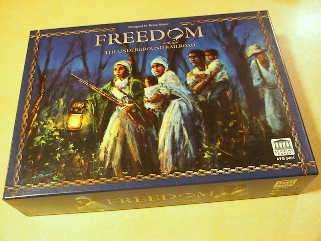 Freedom The Underground Railroad Board Game Box