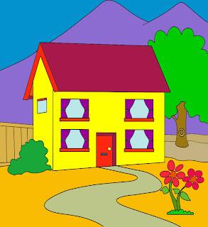 mewarnai gambar rumah, silahkan anda pilih gambar rumah yang anda ...