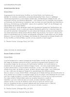Richard Müller: Text Theodora Vischer Schaulager Basel