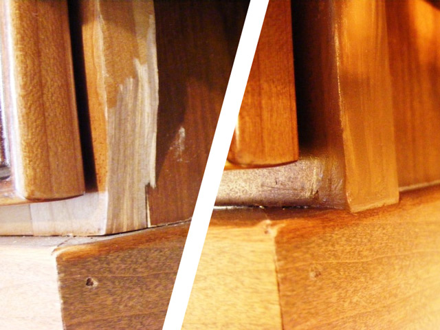 Emiliano co recomposici n de madera - Masillas para madera ...