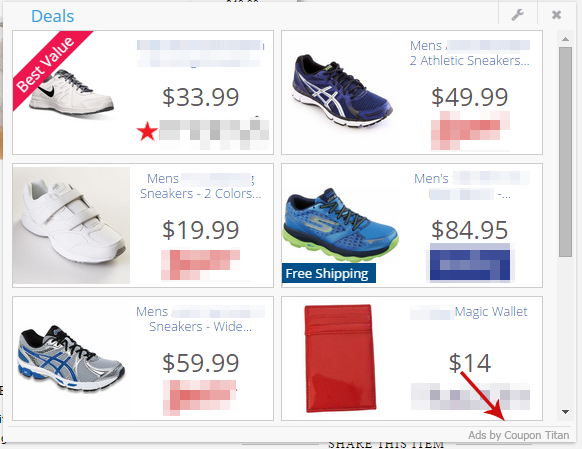 remove ads by coupon titan adware uninstall guide